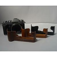 Bao da Halfcase dành cho máy ảnh Fujifilm X-T2 Và X-T3 - Hàng Nhập Khẩu
