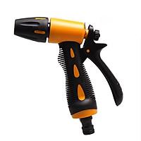 Vòi xịt nước tăng áp thông minh rửa xe, tưới cây có đầu xoay thay đổi tia nước tiện lợi có chốt khóa cố định chống mỏi tay