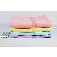 Combo 3 khăn tắm sợi tre 70X140 cm - 480Gr dùng trong gia đình Cao Cấp (Giao màu ngẫu nhiên)