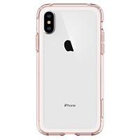 Ốp Lưng Iphone XS Spigen Crystal Hybrid - Hàng Chính Hãng