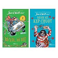 Combo 2 Cuốn : Bánh Mì Kẹp Chuột + Bố Xấu , Bố Tốt (Tặng kèm Bookmark Happy Life)
