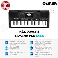 Đàn Organ Yamaha PSR-E463 - Màu đen - Hàng chính hãng