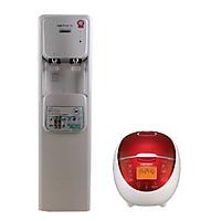 Máy lọc nước tích hợp nóng lạnh KoriHome WPK-906- hàng chính hãng  ( Tặng Nồi cơm điện Cuckoo CR-0655F 1.08L)