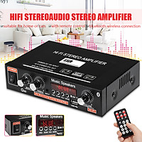 800W 2 Channel HIFI Audio Amplifier bluetooth Stereo Power Amplifiers 12V/ 220V Car Home Theater Amplifiers