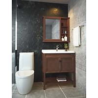 Tủ lavabo Đẹp Nhập Khẩu Từ Thái Lan - Chất Liệu Nhôm - METHA DWAB-60211