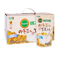 Lốc 20 túi Sữa đậu nành, hạnh nhân và óc chó Vegemil 190ml