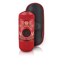 Dụng cụ pha cà phê du lịch Nanopresso Wacaco màu đỏ tattoo phiên bản giới hạn - Wacaco Nanopresso Red Tattoo Pixie Limited- Hàng Nhập Khẩu