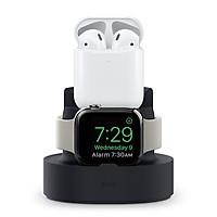 Đế sạc Elago Mini cho Apple Watch, Airpods và iPhone - Hàng Chính Hãng