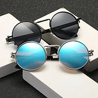 Round Frame Fashion Sunglasses Retro Steampunk Sunglasses with Round Frames