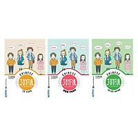 Combo Bộ Sách Vui Học Tiếng Trung Cực Hay: Joyful Chinese - Vui Học Tiếng Trung (Từ Vựng, Ngữ Pháp Và Tập Viết) (Tặng Thêm Cây Viết Hoạt Hình Ngộ Nghĩnh)