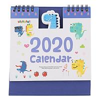 Lịch Để Bàn 2020 (15 x 16cm) - Hình Khủng Long