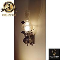 Đèn dầu gắn tường phòng thờ trang trí nội thất không gian cổ điển- Đèn Phương Anh