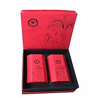 Hộp Trà Tân Cương Thượng Hạng - Hộp Hứng Dừa 200 gram