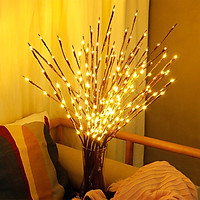 Combo 2 cành Cây Liễu Hoa đèn DIY DIY Đèn trang trí nhà Bóng đèn LED