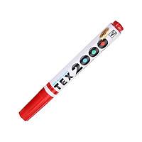 Bộ 2 Bút Lông Bảng TEX 2000 - Mực Đỏ