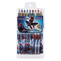 Sáp Vặn Dài Rolling Crayon 18 Màu (2525-18)