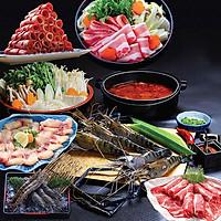 Kohaku Buffet Sashimi - Nướng - Lẩu Hơn 120 Món Bò Mỹ, Hải Sản Cao Cấp - Free Buffet Thức Uống