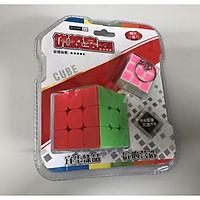 Rubik 3x3 cao cấp kèm móc khóa rubik