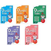 Bộ Sách 5 Cuốn Luyện Thi Olympic Toán Lớp 1-5