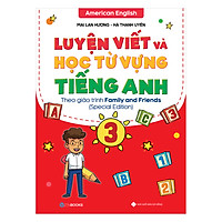 Luyện Viết Và Học Từ Vựng Tiếng Anh Lớp 3