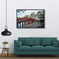 Tranh treo tường phong cảnh Hà Nội xưa - HNX014