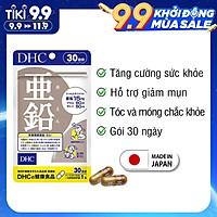 Viên uống bổ sung kẽm DHC Nhật Bản thực phẩm chức năng Zinc giúp ăn ngon miệng, dưỡng tóc và móng khỏe, giảm mụn, hỗ trợ sinh lý nam 30 ngày JN-DHC-ZIN30