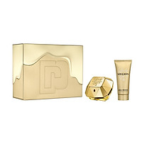 Bộ Set Nước hoa nữ Paco Rabanne Lady Million Gift Set Edp 80Ml + Body Lotion 100Ml