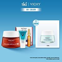 Bộ sản phẩm ban đêm làm sáng da và giảm thâm nám Vichy Liftactiv Collagen Nuit