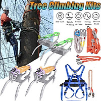 Tree Climbing Sets Climbing Spikes Sharp Claws w/ Safe Belt & Ropes