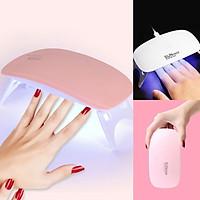 Máy hơ gel nhanh khô, máy làm móng thông minh đèn LED/UV hiện đại nhỏ gọn kiểu dáng sang trọng