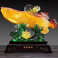 Tượng Cá Rồng Kim Long Phong Thuỷ