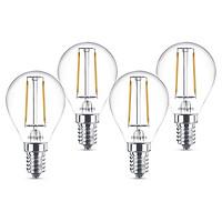 Bộ 4 Bóng Đèn LEDClassic 2W 2700K P45 E14 4C-929001238608 - Ánh Sáng Vàng - Hàng Chính Hãng