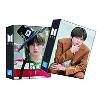 Lomo card BTS thành viên V Kim Tae-hyung