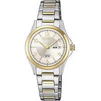 Đồng hồ đeo tay nữ thời trang CITIZEN 3 kim kinh điển/ EQ0595-55A
