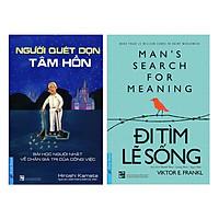 Combo Người Quét Dọn Tâm Hồn + Đi Tìm Lẽ Sống (2 cuốn)