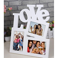 Khung ảnh chữ Love 3 khung IG307
