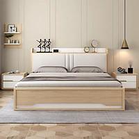 Giường Ngủ Gỗ Có Ngăn Kéo Đẹp GN-602
