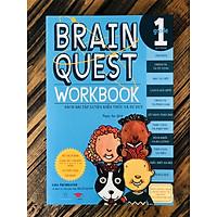 Brain Quest 1 - sách phát triển tư duy - Genbooks ( song ngữ anh việt, 6 - 7 tuổi )