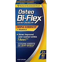 Osteo Bi-Flex Triple Strength + Vitamin D, Improved Joint Comfort*, 80 Coated Tablets