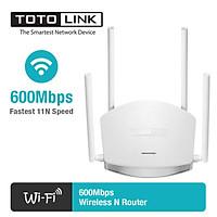 Bộ phát Wifi Totolink N600R 600Mbps (Trắng) - Hàng Chính Hãng - Khuyết Đại Wifi không dây cực mạnh - Bảo hành 24 tháng