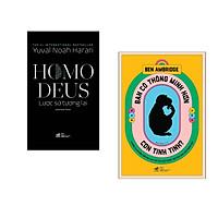 Combo 2 cuốn sách: Homo Deus lược sử tương lai + Bạn có thông minh hơn con tinh tinh