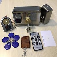 Khoá cổng thông minh mở bằng thẻ từ ( chưa có adaptor 12V-3A)
