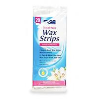 Miếng dán tẩy lông du lịch Beauty Formulas Wax Strips - 20 miếng