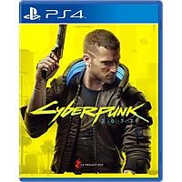 Đĩa Game PS4 Cyberpunk 2077 (PLAYS GREAT ON PS5) - Hàng Nhập Khẩu