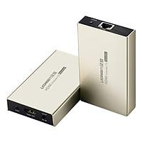 Bộ Nối Dài HDMI Qua Cáp Mạng Hỗ Trợ Tối Đa 120m Ugreen 40280 (Không Kèm Cáp Mạng) - Hàng Chính Hãng