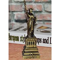 Mô hình tượng nữ thần tự do cao 32 cm (màu vàng rêu)