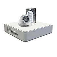 Trọn bộ 1 camera chính hãng Hikvision HD720P