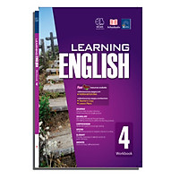 Sách Learning english 4 ( 9 - 10 tuổi )