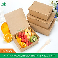 MFH1A - 18x12x5 cm - 50 hộp đựng thực phẩm - Hộp đựng đồ ăn