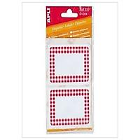 Sticker Viền Đỏ APLI - 52x78 - 337